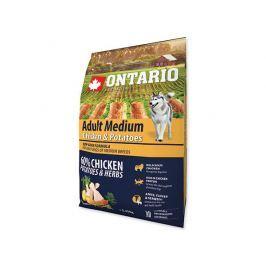 ONTARIO dog ADULT MEDIUM chicken - 2.25kg