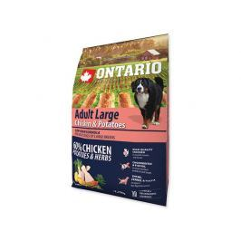 ONTARIO dog ADULT LARGE chicken - 2.25kg