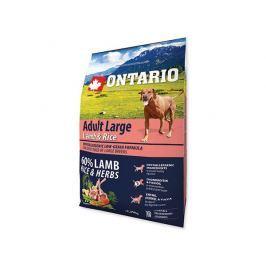 ONTARIO dog ADULT LARGE lamb - 2.25kg Krmivo pro psy