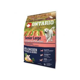 ONTARIO dog SENIOR LARGE chicken - 2.25kg Krmivo pro psy