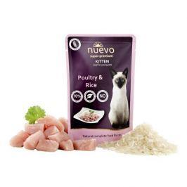 NUEVO cat kapsa KITTEN CHICKEN - 85g Krmivo a vitamíny pro kočky