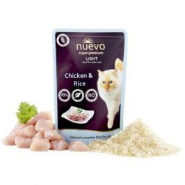 NUEVO cat kapsa LIGHT CHICKEN - 85g Krmivo a vitamíny pro kočky