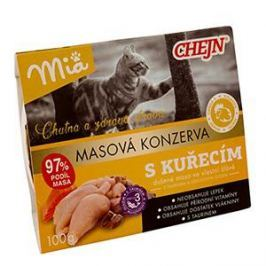 CHEJN - MIA vanička kuřecí - 100g Krmivo a vitamíny pro kočky