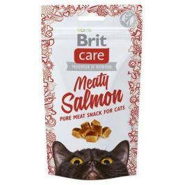 BRIT CARE cat SNACK MEATY SALMON - 50g