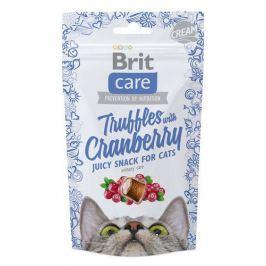 BRIT CARE cat SNACK TRUFFLES CRANBERRY - 50g Krmivo a vitamíny pro kočky