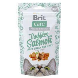 BRIT CARE cat SNACK TRUFFLES SALMON - 50g
