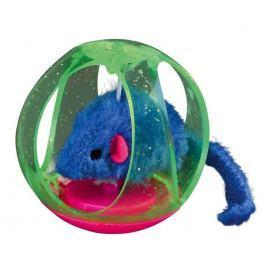 HRAČKA BOBO míček plastový/myška - 6cm