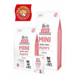 BRIT CARE dog MINI GF PUPPY lamb - 400g