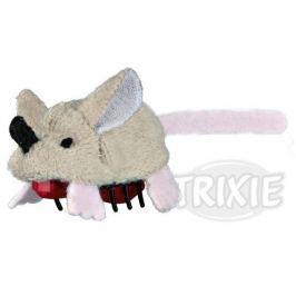 HRAČKA Plyšová běhací myš na baterie - 5,5cm