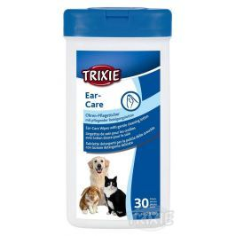 Trixie péče UŠNÍ čistící ubrousky - 30ks