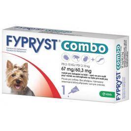antiparazitní spot-on FYPRYST COMBO - 2 - 10kg - S