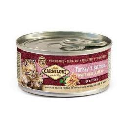 CARNILOVE cat konz. KITTEN TURKEY/salmon - 100g