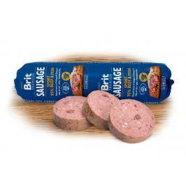 BRIT dog sausage SPORT BEEF / FISH - 800g