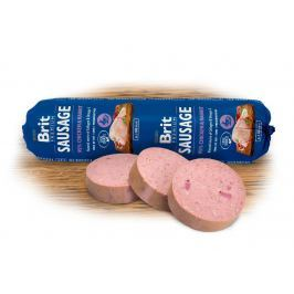 BRIT dog sausage CHICKEN / RABBIT - 800g