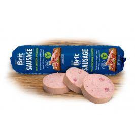 BRIT dog sausage CHICKEN / VENISON - 800g