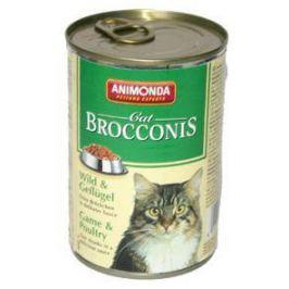 ANIM. cat konz. BROCCONIS wild - 400g