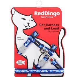 Postroj RD cat s vodítkem CAMOUFLAGE - GREEN