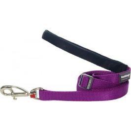 Vodítko RD jednobarevné - 1,2cm/1,8m (červené) Vodítka pro psy