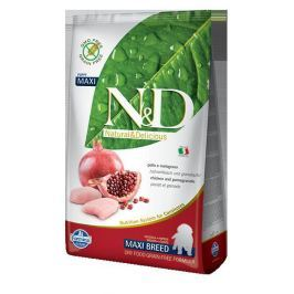N&D dog GF PUPPY MAXI CHICKEN / POMEGRANATE - 2,5kg