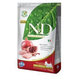 N&D dog GF ADULT MINI CHICKEN / POMEGRANATE - 800g