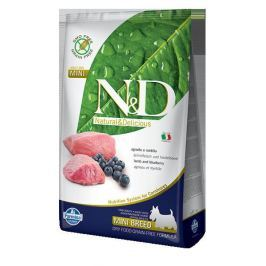 N&D dog GF ADULT MINI LAMB / BLUEBERRY - 800g