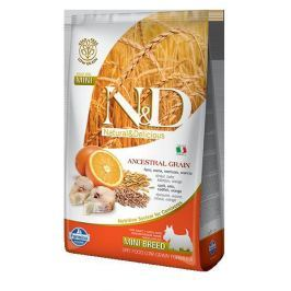 N&D dog LG ADULT MINI CODFISH / ORANGE - 800g
