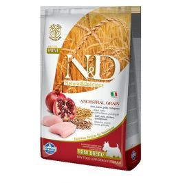 N&D dog LG ADULT MINI CHICKEN / POMEGRANATE - 800g Krmivo pro psy