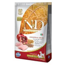 N&D dog LG SENIOR CHICKEN / POMEGRANATE - 800g (small/medium)