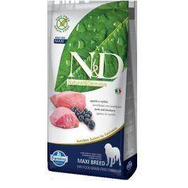 N&D dog GF ADULT MAXI LAMB / BLUEBERRY - 12kg