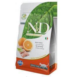N&D cat GF ADULT FISH / ORANGE - 300g Krmivo a vitamíny pro kočky