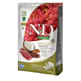 N&D dog GF QUINOA SKIN / COAT DUCK - 800g