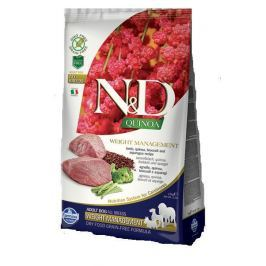 N&D dog GF QUINOA WEIGHT MANAGEMENT LAMB - 800g