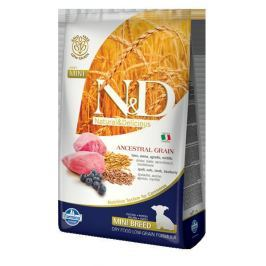 N&D dog LG PUPPY MINI LAMB / BLUEBERRY - 800g