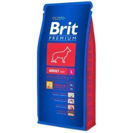 BRIT dog L - ADULT - 15 + 1kg GRATIS(2x8kg) Krmivo pro psy