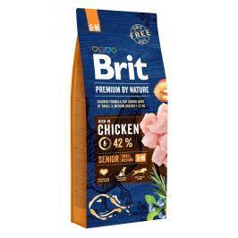 BRIT dog Premium By Nature SENIOR S+M - 15kg