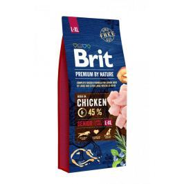 BRIT dog Premium By Nature SENIOR L+XL - 15kg