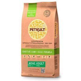 PETKULT dog MINI ADULT lamb/rice - 3x12kg + FRISBEE ZDARMA
