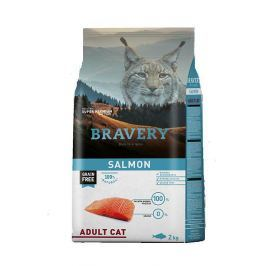 BRAVERY cat ADULT salmon - 2 kg