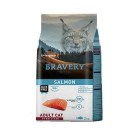 BRAVERY cat STERELIZED salmon - 2 kg