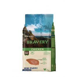 BRAVERY dog PUPPY mini CHICKEN - 2 kg