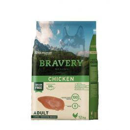 BRAVERY dog ADULT large / medium CHICKEN - 4 kg