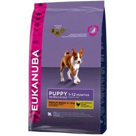 Eukanuba PUPPY/JUNIOR medium - 1kg