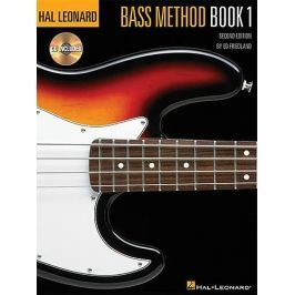 MS Hal Leonard Bass Method: Book 1 (Second Edition) With CD