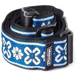 Dunlop Jacquard Strap Avalon Blue