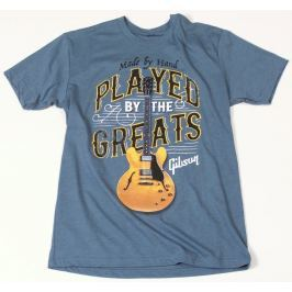 Gibson Played By The Greats T-Shirt Indigo XXL
