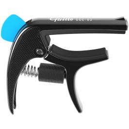 Guitto GGC-02 Revolver Capo Black