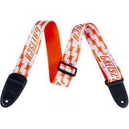 Gretsch Double Penguin Strap Orange/White