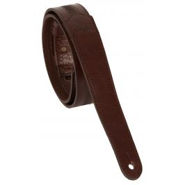 Taylor Slim Leather Strap Chocolate Brown