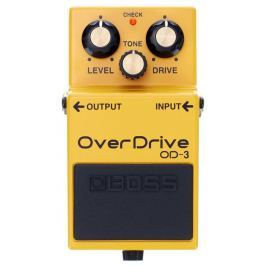 Boss OD-3 Distortion, overdrive, boost