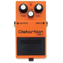 Boss DS-1 Distortion, overdrive, boost